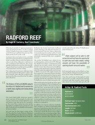 Radford reef - Division of Fish and Wildlife