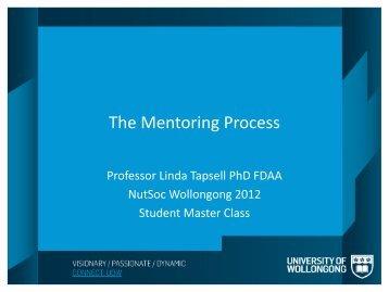 The Mentoring Process
