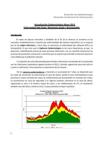 RECOMENDACIONES infecciones respiratorias agudas 2013 nuevo