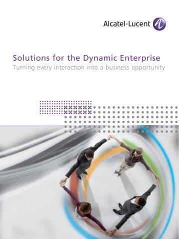 View the brochure (File Type: PDF | Size: 2 - Alcatel-Lucent Enterprise