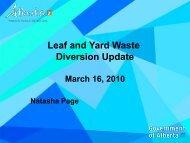 Natasha Page, Alberta Environment - Compost Council of Canada