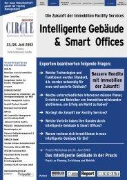 Anmeldung - Intelligente Gebäude & Smart Offices
