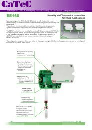 HVAC Humidity and Temperature Transmitter