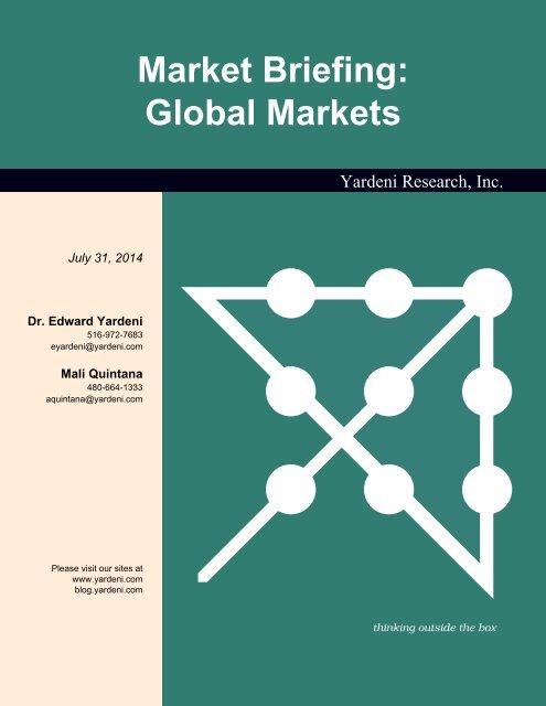 Market Briefing: Global Markets