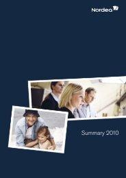 Summary 2010 - Alle jaarverslagen