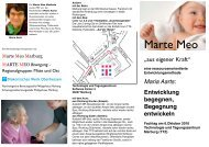 View flyer - Marte Meo