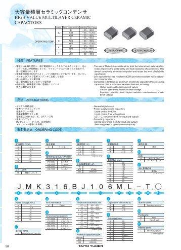 J M K 3 1 6 B J 1 0 6 M L_T Z - Pucko Elektronik GmbH