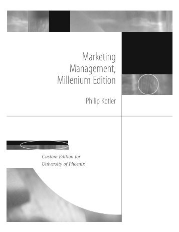 Marketing Management, Millenium Edition - epiheirimatikotita.gr