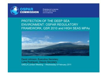 Ospar Commission presentation (PDF Document) - UKELA