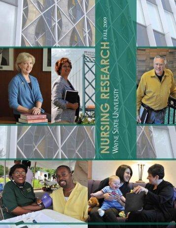 Nursing Research 2009 - College of Nursing - Wayne State University