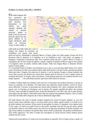 Erodoto: Le Storie, Libro III, c. 430 BCE - Badwila Home Page