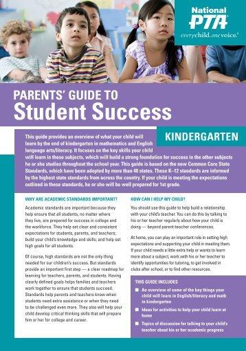 KinderGarten - National PTA