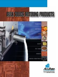 All Products Brochure - 12pg.4 - Schenck AccuRate