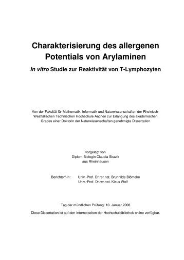 phd thesis rwth aachen Rwth aachen university is germany´s top-ranked technical university with approx 40,000 students the institute for communication technologies and embedded systems.