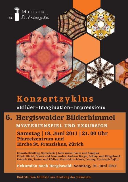 Konzertzyklus - Musik in St. Franziskus