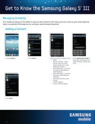 Managing Contacts Adding a Contact - US Cellular