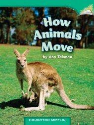Animals How Move
