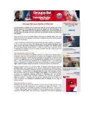 Groupe Bel aux Sables d'Olonne - WindreportMedia