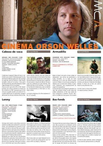 Télécharger la version imprimable du programme cinéma - 2 février