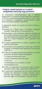 ELEKTRONIKUS SZÁMLA - DRV - Page 3