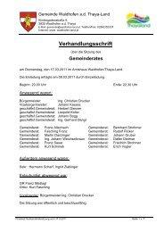 Gemeinderatssitzungsprotokoll 17.3.2011 (60 KB) - .PDF