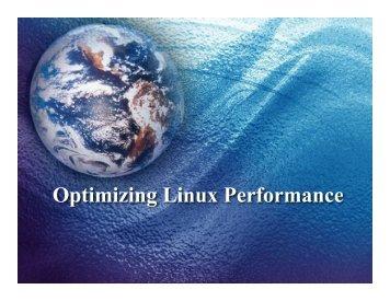 Optimizing Linux Performance