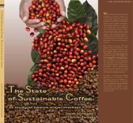 The state of sustainable coffee - Daniele P Giovannucci
