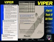 Viper GPS Tracking System - Mobile Audio Electronics