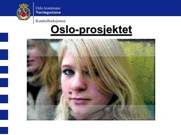 Oslo-prosjektet - Næringsetaten