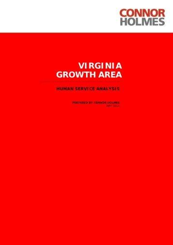 Virginia Growth Area Human Services ... - DPTI - SA.Gov.au