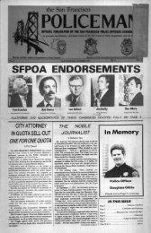 October 1977 - San Francisco Police Officers Association