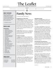 Family News - ACS Integration: Home