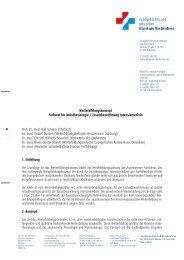 Weiterbildungskonzeptes - Klinikfinder.de