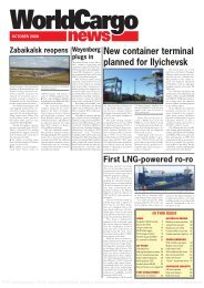 WCN Oct 08 Front cover - WorldCargo News Online