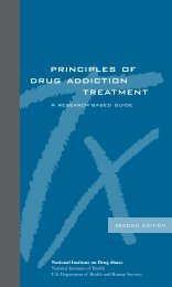 Principles of Drug Addiction Treatment: A Research ... - DrugScope