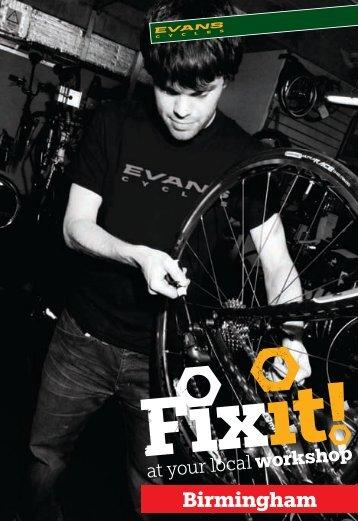 Birmingham - Evans Cycles