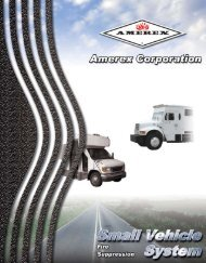 Small Bus System - Amerex Corporation