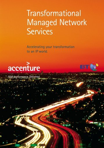 Transformational Managed Network Services - BT.com