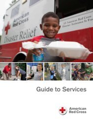 Guide to Services - American Red Cross