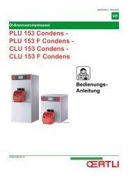 PLU 153 F Condens - Oertli