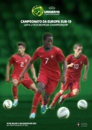 Clique aqui para aceder à revista oficial da Seleção Nacional sub ...