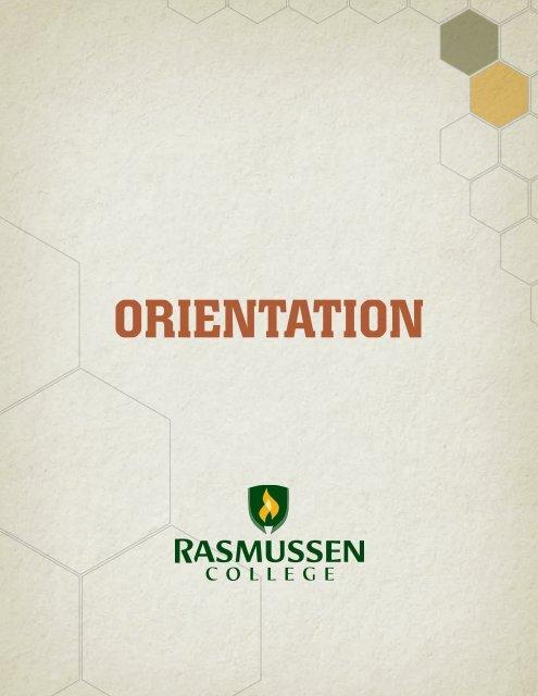 OrientatiOn - your Student Portal! - Rasmussen College