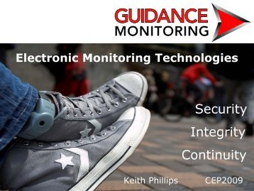 Guidance Monitoring sponsor presentation