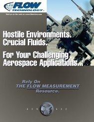 Aerospace Market Brochure - Flow Technology