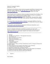 Siskind's Immigration Bulletin December 22, 2003 ... - Siskind, Susser