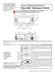 MicroSilkTM- Whirlpool- RC630 - Jason International