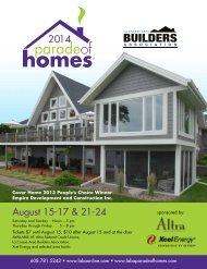 Parade of Homes - Coulee Region Women's Magazine