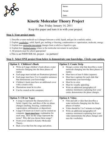 Worksheets Kinetic Molecular Theory Worksheet kinetic molecular theory worksheet sharebrowse worksheet