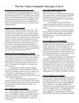 MESSENGER The news of Calvary, Southminster & St. James - Page 2