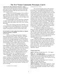 MESSENGER The news of Calvary, Southminster & St. James - Page 4